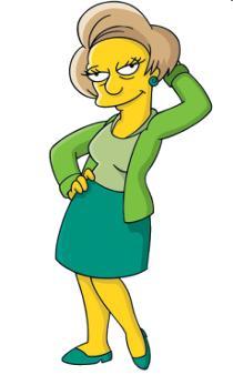 Edna, Les Simpson