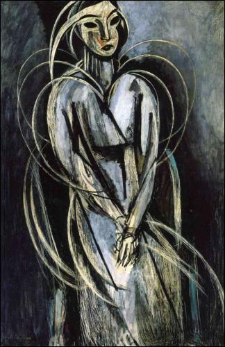Yvonne Landsberg a été peinte en 1914 par :