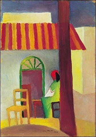 Qui a peint Le café turc cette même année ?