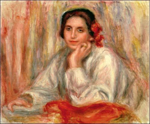 Qui a peint Vera Sergine en 1914 ?