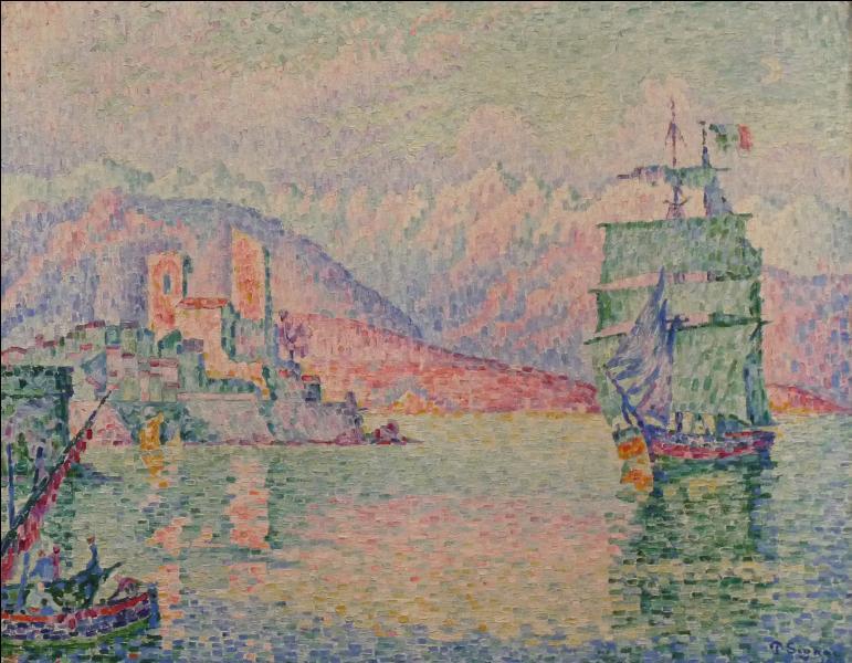 Qui a peint Soir à Antibes en cette année 1914 ?