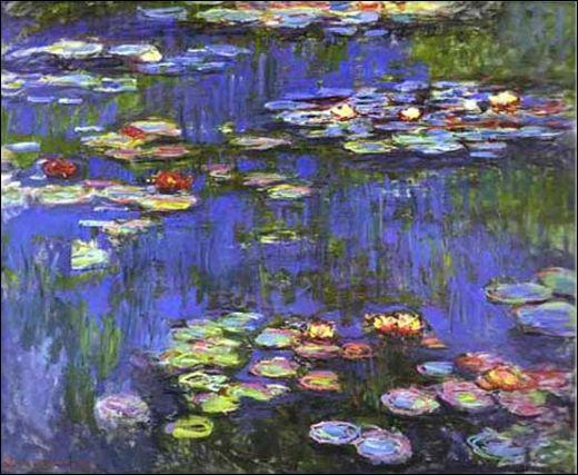 Ces Nymphéas célèbres ont été peintes en 1914 par :