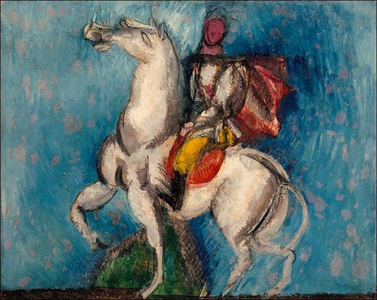 Qui a peint Le cavalier arabe cette même année ?