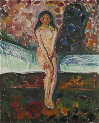 Puberté est une célèbre toile réalisée en 1914 par :