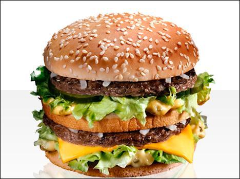 Et  hamburgers / potatoes / sauce McDo  ?