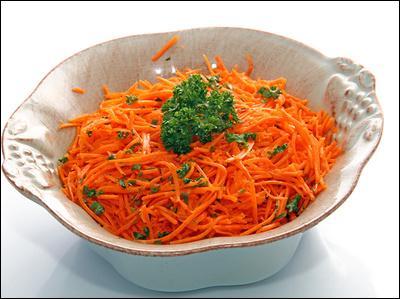 Que pensez-vous des  carottes râpées  ?