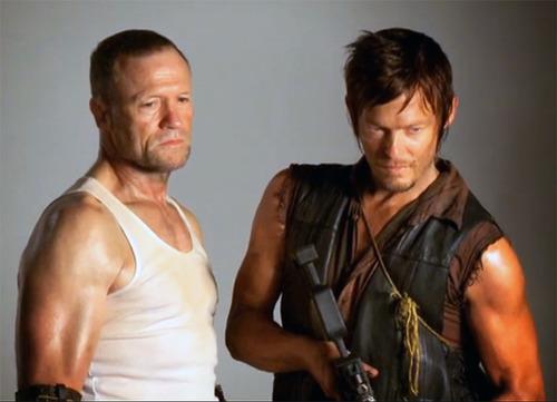 The Walking Dead : l'histoire de deux frères