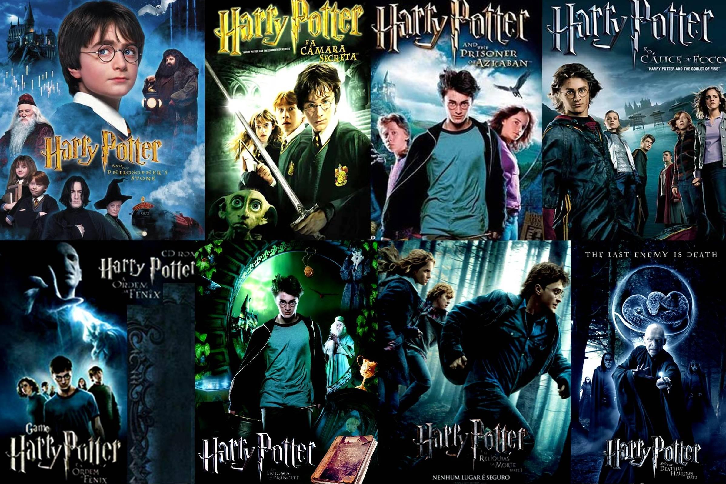 Les noms des chapitres dans Harry Potter à l'école des sorciers