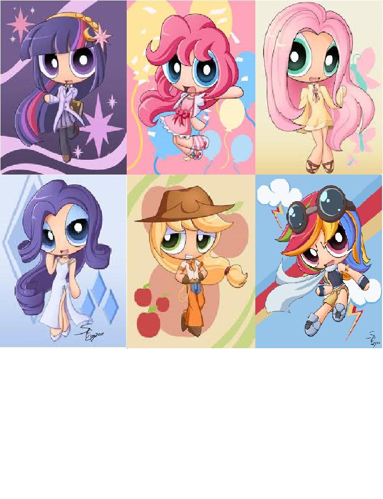 My Little Pony, version super nana