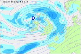 Comment s'appellent les tempêtes qui ont dévasté le Nord de l'Europe ?