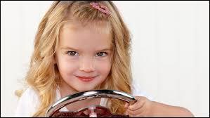 Je joue dans une émission Disney avec la petite Mia Talerico :