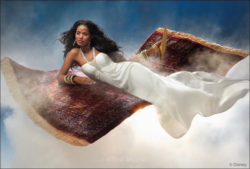 Elle s'est réconciliée avec le beau Aladin. Quelle est cette princesse Disney ?