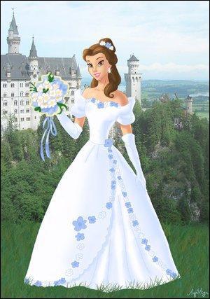 Le plus beau jour de sa vie sûrement : robe blanche, bague de princesse ... Vous la reconnaissez ?