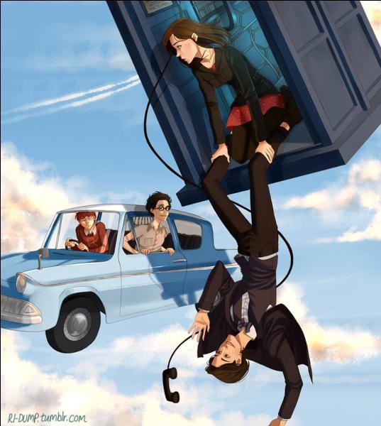 Pourquoi le docteur est-il suspendu au Tardis ?