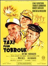 Juillet : ''Un taxi pour Tobrouk'' , ''Du rififi à Paname'' , ''Le Tatoué'' sont des films réalisés par...