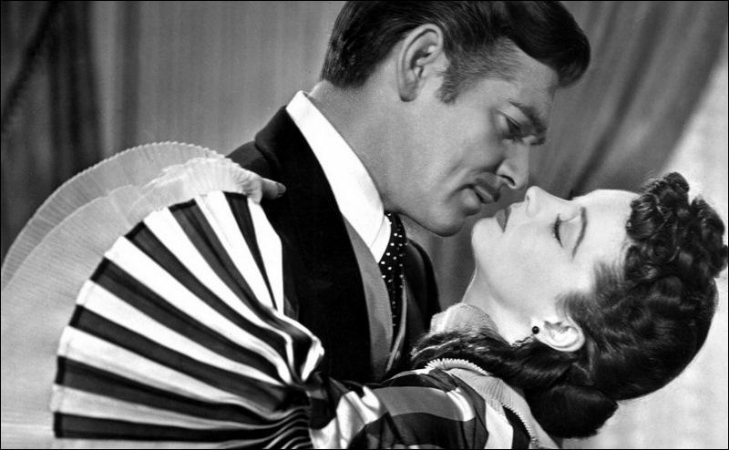 En 1939, quel couple mythique crève l'écran dans le chef-d'œuvre de Victor Fleming  Autant en emporte le vent  qui sera récompensé de huit Oscars ?