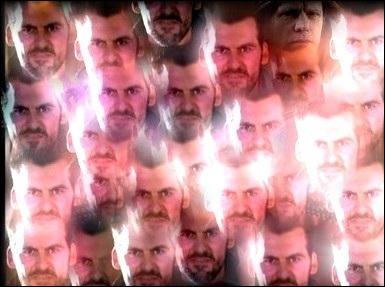 Parmi tous ces visages de Zankou, il y a un autre visage, trouvez-le et cochez la bonne réponse.