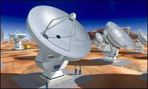 Mars : Le plus grand télescope du monde s'appelle ALMA. Il vient d'être inauguré en Amérique du Sud dans le désert...