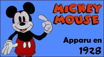 C'est la plus célèbre des souris, comment s'appelait ce personnage lorsqu'il apparut pour la première fois dans un court métrage ?