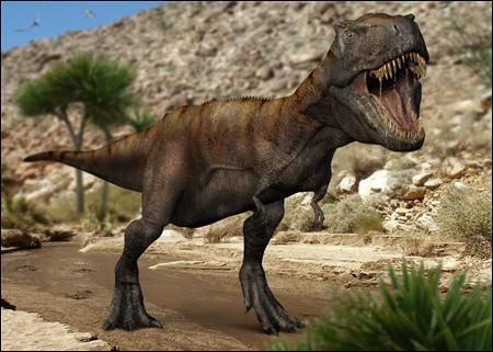 Quel dinosaure était un puissant carnivore ?