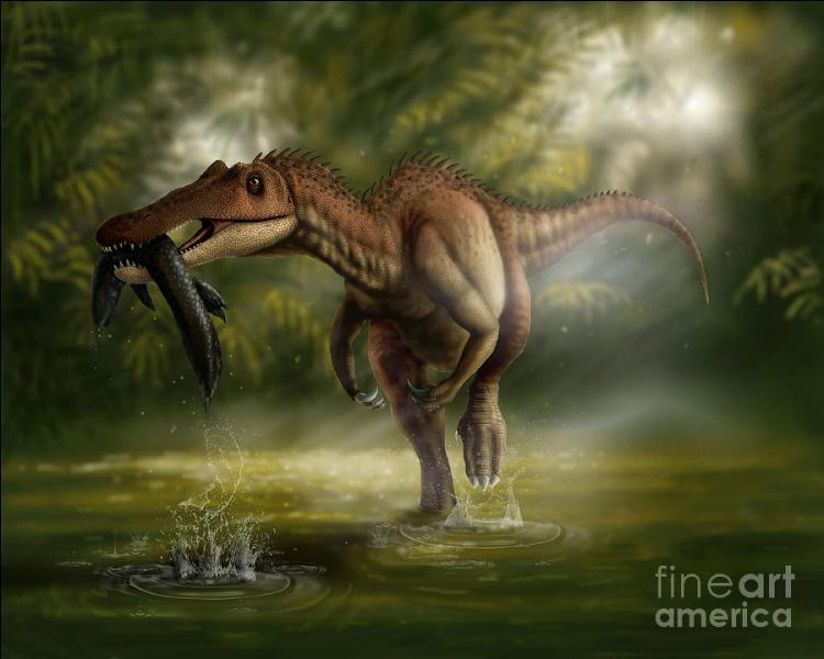 Quel dinosaure allait à la pêche ?