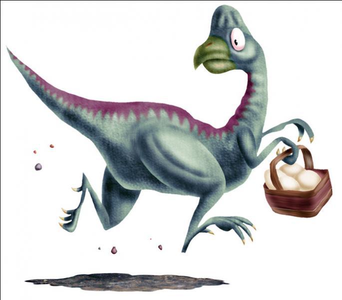 Quel dinosaure volait les œufs des autres ?