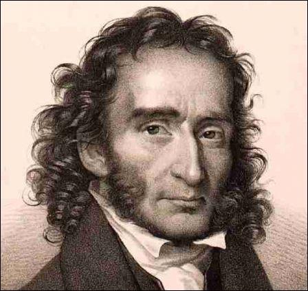 Ce violoniste, l'un des plus grands de tous les temps, fut également un compositeur très connu. L'une de ses oeuvres est particulièrement célèbre il s'agit de la  Campanella  (qui a aussi était transcrite pour piano par Liszt). Quel est ce violoniste ?