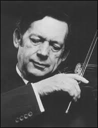 Ce grand violoniste belge jouait souvent en duo avec la pianiste Clara Haskill. Qui était-il ?