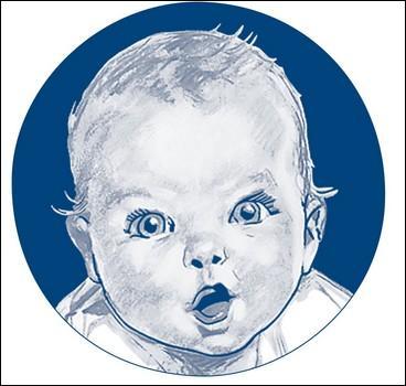 Quelle marque d'alimentation pour bébés représente ce logo ?