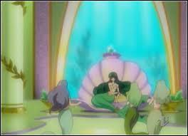 Rina est la princesse sirène du royaume :