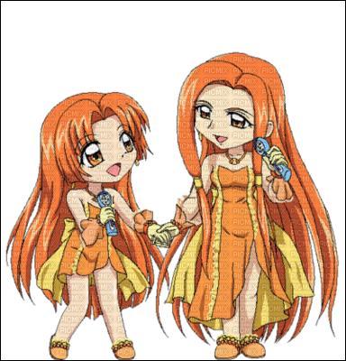 Sara et Seira sont les princesses sirènes du royaume :