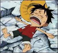 Après désactivation, avec quelle technique Luffy se retrouve-t-il comme ça ?