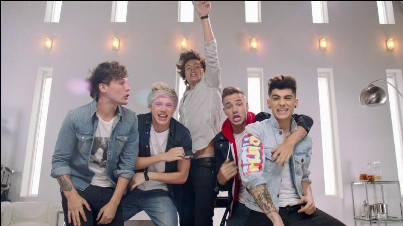 Dans lequel de leur clip les One Direction se sont-ils déguisés en d'autres personnages ?