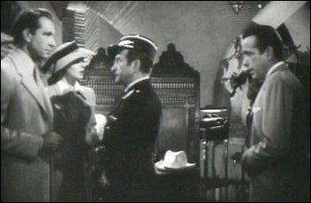 Quel couple d'acteurs peut-on voir dans le film  Casablanca  ?