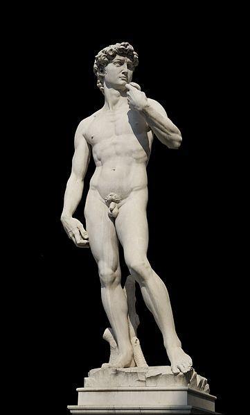 Qui a sculpté le célèbre  David  ?