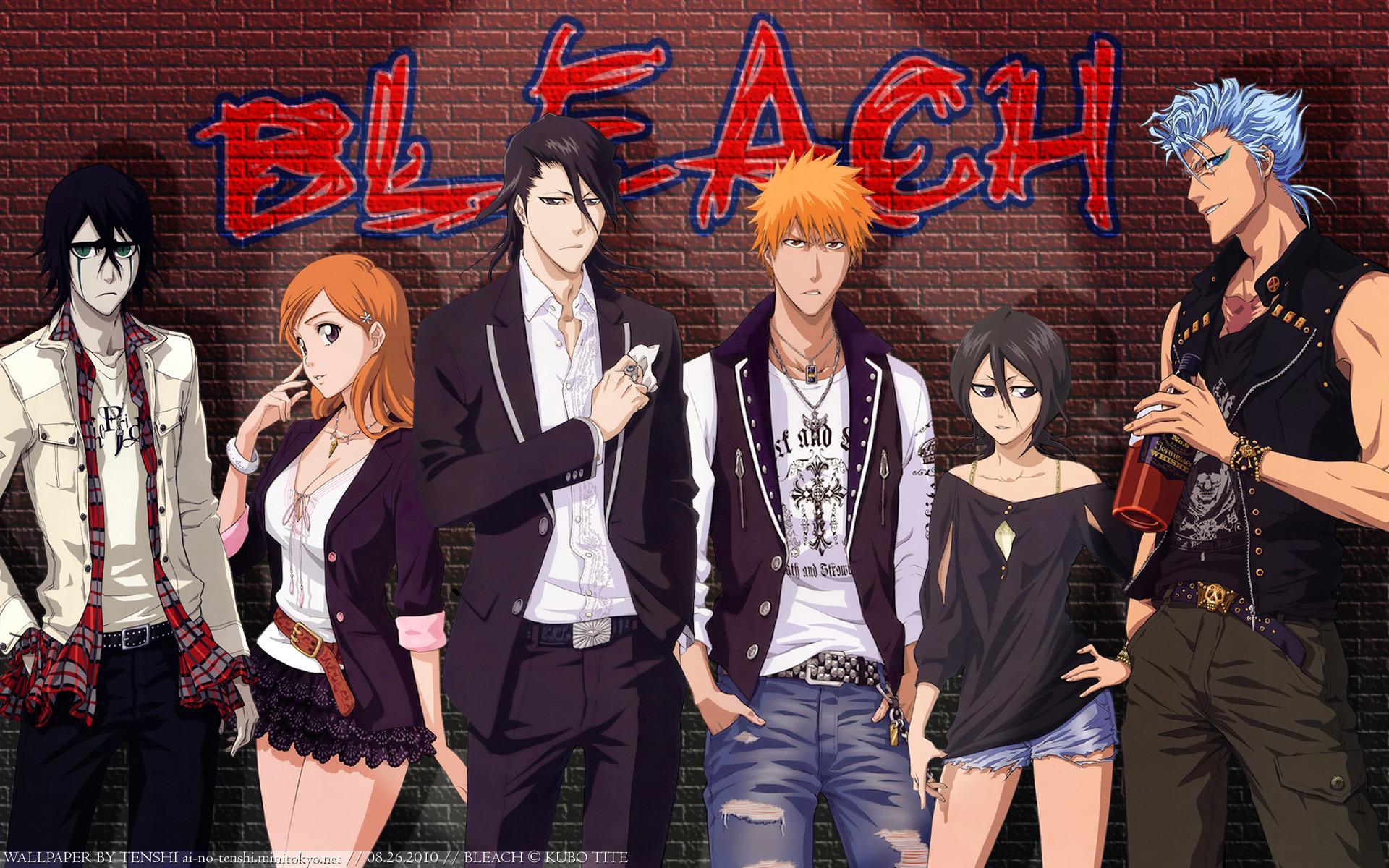 Bleach - Les personnages