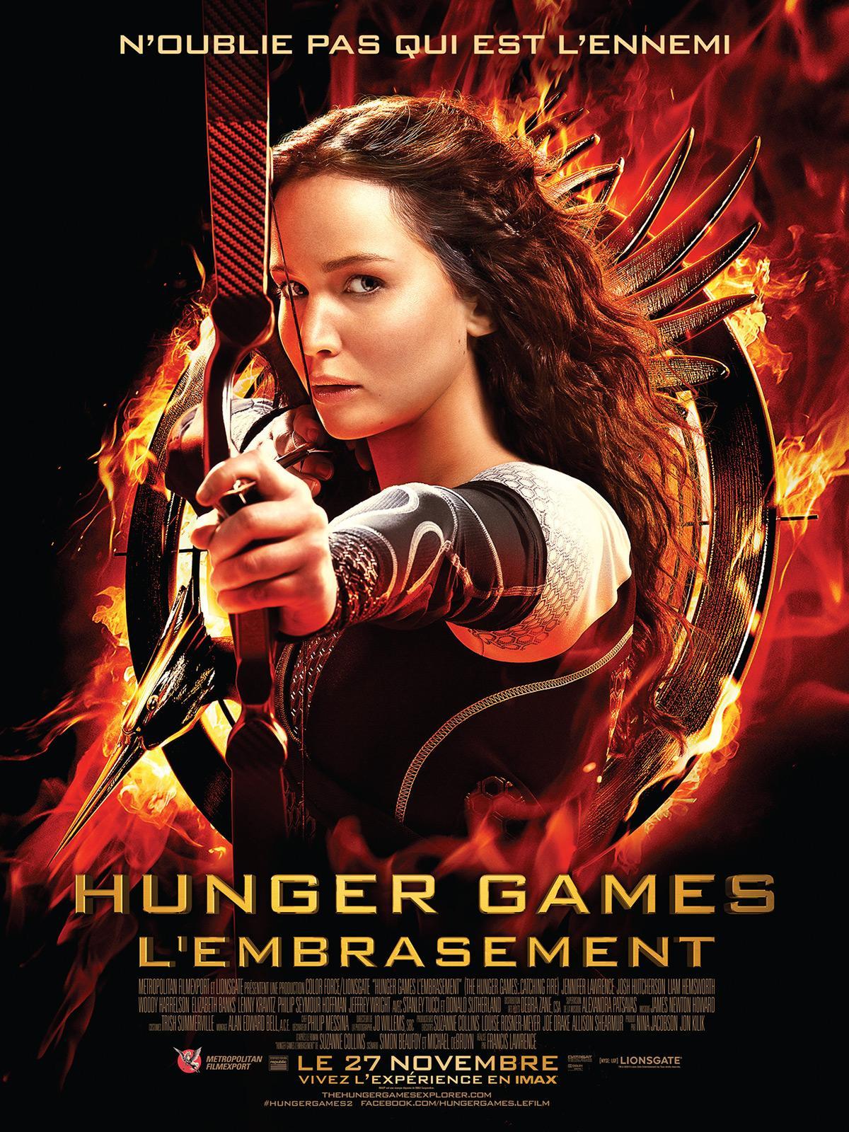 Hunger Games 2, l'embrasement