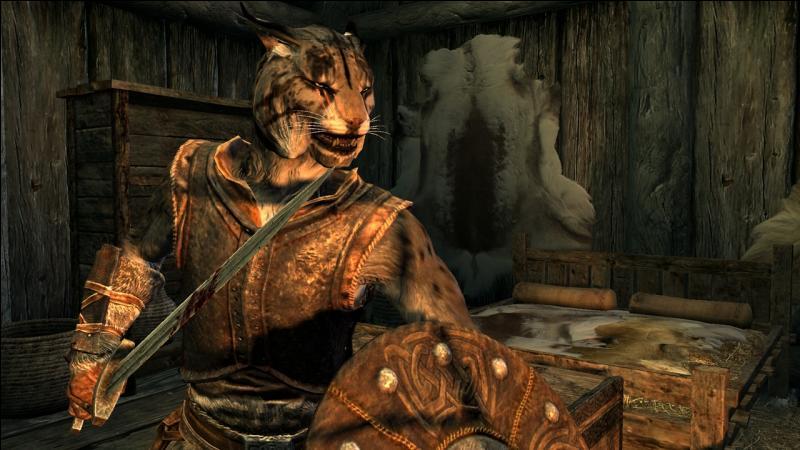 Quelle est cette créature apparue dans  Skyrim  ?