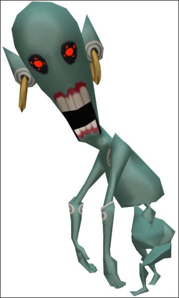 Quelle est cette créature apparue dans  The Legend of Zelda  ?