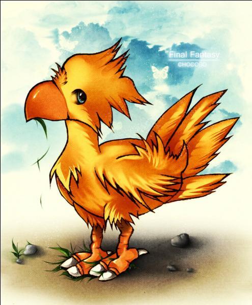 Quelle est cette créature apparue dans  Final Fantasy  ?