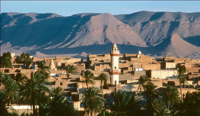 Le territoire algérien est t-il bordé par la Méditerranée ?