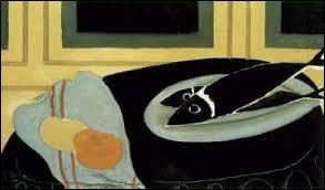 Qui a peint Les poissons noirs ?