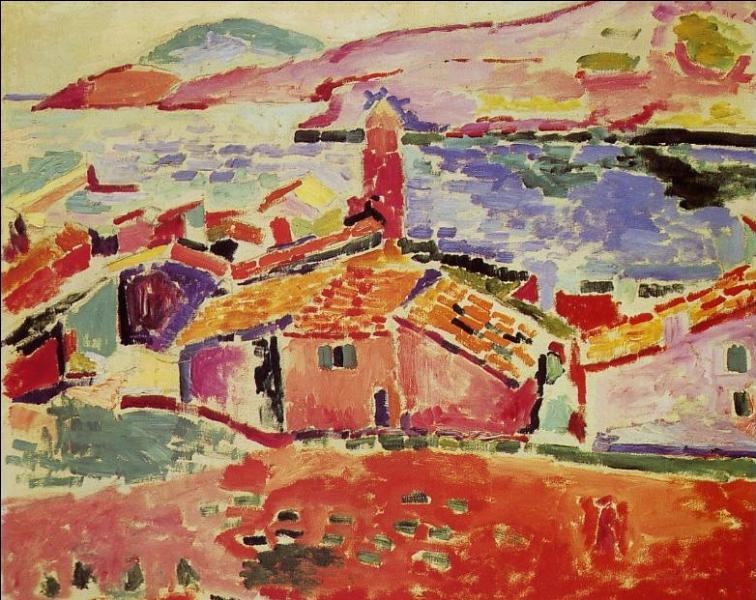 Qui a peint Paysage à Collioure ?