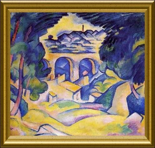 Qui a peint Viaduc de l'Estaque ?