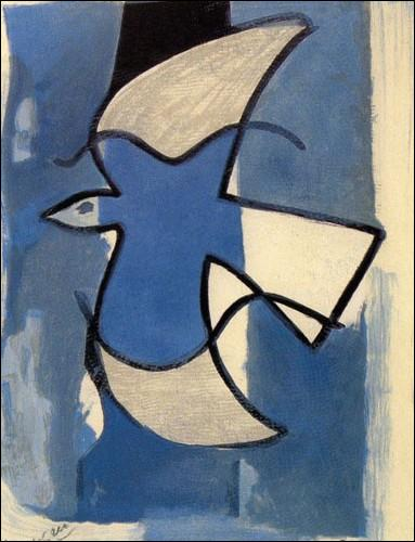Qui a peint L'oiseau bleu ?