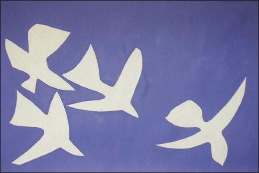 Qui a peint Les oiseaux ?