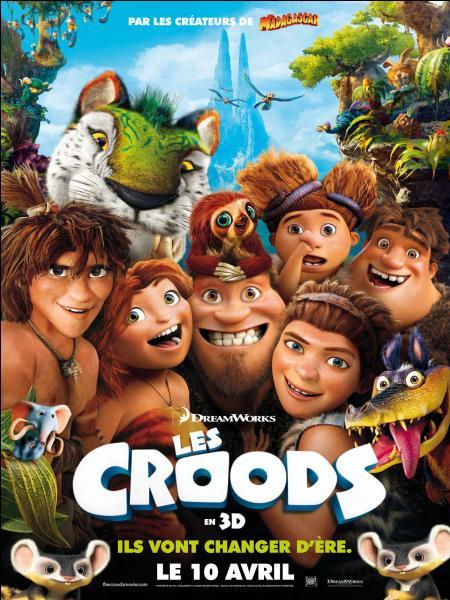 Quelle(s) actrice(s) a(ont) prêté leur voix dans le film d'animation  Les Croods  ?