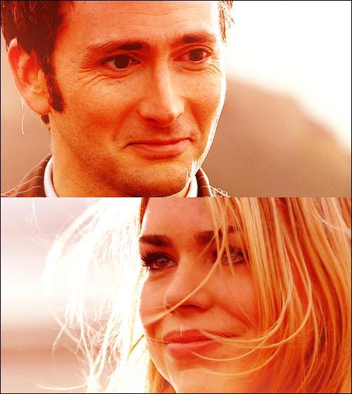 Quels sont les derniers mots que le Docteur dit à Rose dans l'épisode  Doomsday  (Adieu Rose) ?