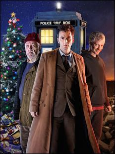 Le 10e Docteur revoit Rose pour la dernière fois dans l'épisode  La Prophétie de Noël , le :