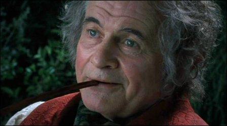 Au début du film, que fête Bilbon Sacquet ?